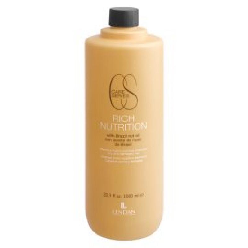 Шампунь для сухих и поврежденных волос Shampoo hydro-nutritive Rich Nutrition LENDAN