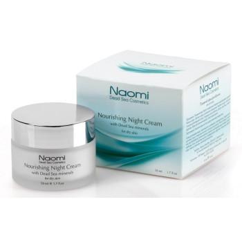 Крем питательный для лица с минералами мертвого моря для сухой кожи NAOMI
