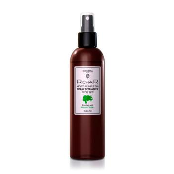 Спрей-кондиционер для облегчения расчёсывания интенсивное востановление с витамином Е с маслом Авокадо Richair EGOMANIA
