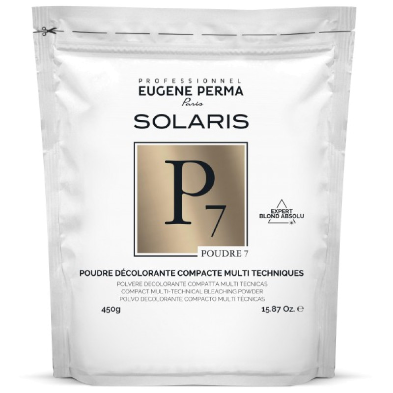 Пудра осветляющая интенсивная компактная №7 Solaris EUGENE PERMA