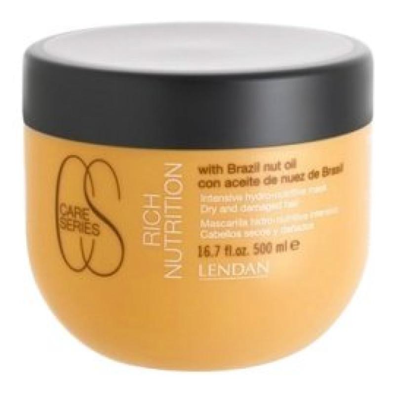 Маска для сухих и поврежденных волос Intensive hydro-nutritive mask Rich Nutrition LENDAN