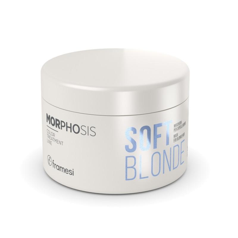 Маска для светлых волос MORPHOSIS Soft Blonde FRAMESI