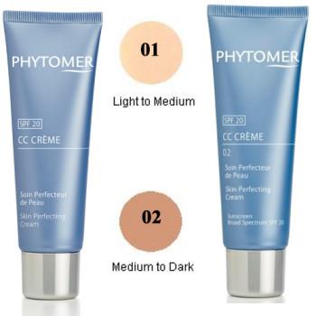 Солнцезащитный крем 'Совершенство кожи' SPF 20 Skin Perfecting Cream SPF 20 PHYTOMER