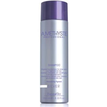 Шампунь для светлых и седых волос Amethyste silver shampoo FARMAVITA