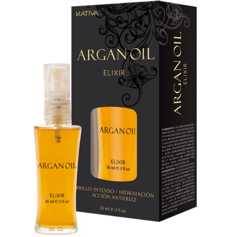 Защитное масло для волос 'Эликсир Арганы' ARGAN OIL KATIVA