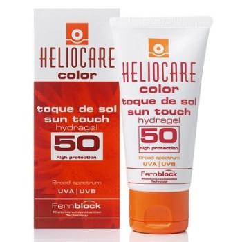 HELIOCARE COLOR SUN TOUCH HYDRAGEL - Тональный солнцезащитный гидрогель с SPF50 IFC GROUP