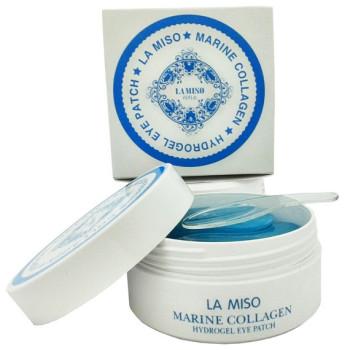 Гидрогелевая маска с морским коллагеном для кожи вокруг глаз Marine Collagen Hydrogel Eye Patch LA MISO