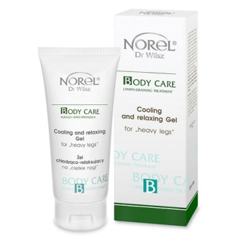 Охлаждающий и успокаивающий гель для уставших отекших ног / Norel Cooling and relaxing gel for heavy legs NOREL DR. WILSZ
