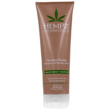 Гель для душа Бодрящий Кокос Coconut Fusion Energizing Herbal Body Wash HEMPZ
