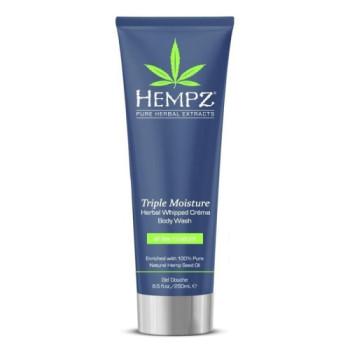 Гель для душа Тройное Увлажнение Triple Moisture Herbal Body Wash HEMPZ