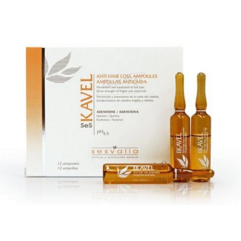 Seskavel Anti-Hair Loss Ampoules Средство в ампулах от выпадения волос SESDERMA
