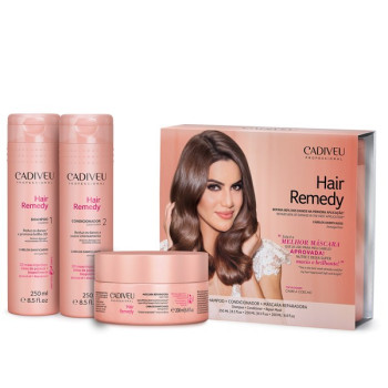 Набор Home Care Основной уход (Подарочный набор) Hair remedy CADIVEU