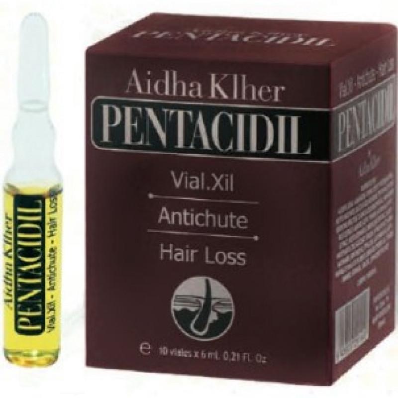 Лосьон Vial.Xil Complex комплекс от выпадения волос PENTACIDIL