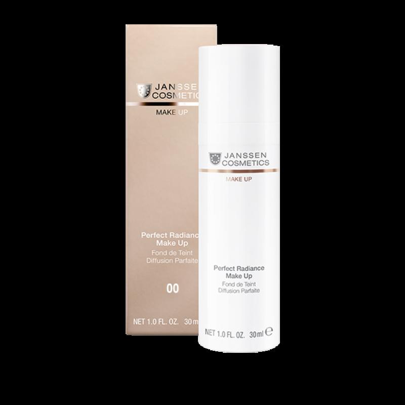 Стойкий тональный крем с UV-защитой SPF-15 для всех типов кожи JANSSEN COSMETICS