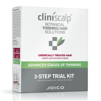 Система от выпадения и для роста волос интенсивная для редеющих окрашенных волос Cliniscalp 3step Kit for Chem.TH As CLINISCALP