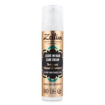 Несмываемый крем-уход для сухих и хрупких волос 'Интенсивное питание' с Нероли и маслом Ши ZEITUN