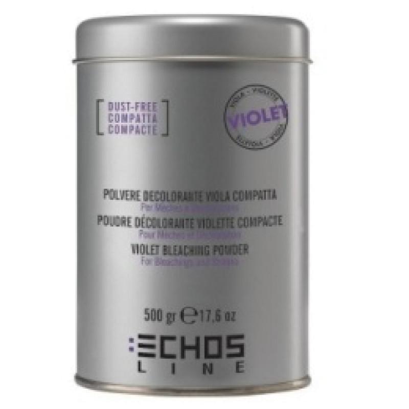 Осветляющий беспыльный порошок с фиолетовыми гранулами Bleaching Powder Violet Dust-Free ECHOSLINE