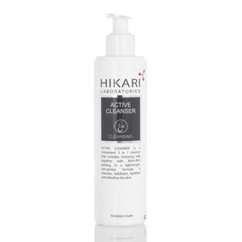 Активный очищающий крем с обновляющим действием ACTIVE CLEANSER HIKARI