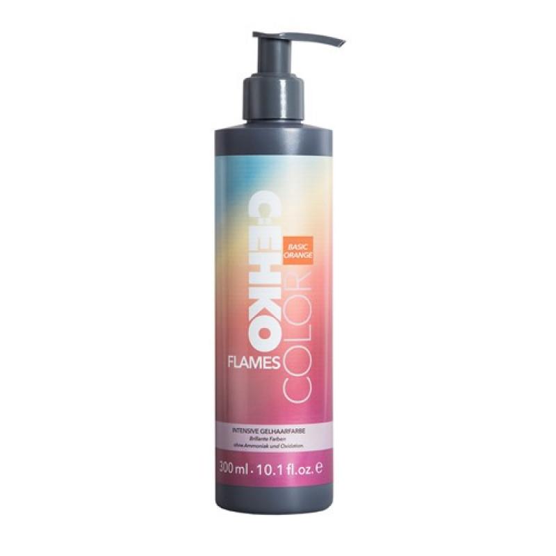 Пигмент прямого действия для волос (Оранжевый) COLOR FLAMES ORANGE CEHKO