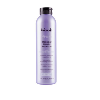 Сияющий шампунь для волос цвета Блонд Bfree Shampoo NOOK