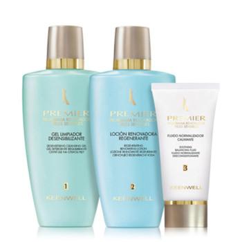 Premier -Programa Renovador Pieles Sensibles Трехшаговая обновляющая программа для чувствительной кожи KEENWELL