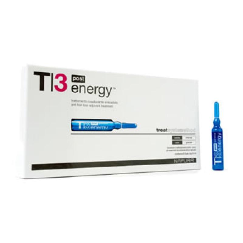 Energy Post ampoule T3 Ампулы против выпадения для жирной кожи головы NAPURA
