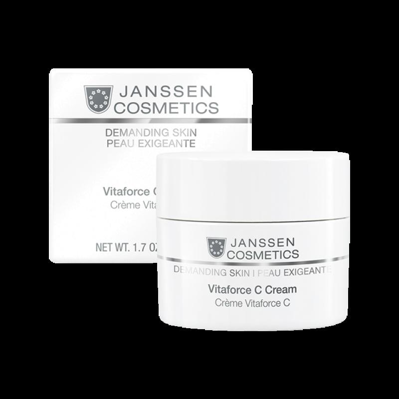 Регенерирующий крем с витамином С JANSSEN COSMETICS