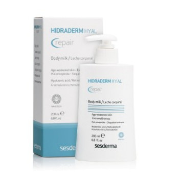 Восстанавливающее молочко для тела Hidraderm Hyal Repair SESDREMA