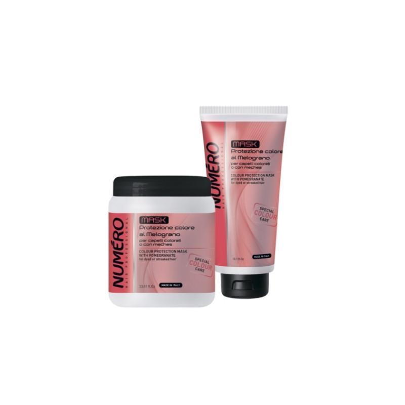 NUMERO COLOUR Маска для защиты цвета с экстрактом граната для окрашенных и мелированных волос BRELIL PROFESSIONAL