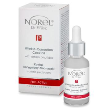 Сыворотка-коктейль, корректирующай морщины, с аминопептидами/Wrinkle correction cocktail with amino peptides NOREL DR. WILSZ