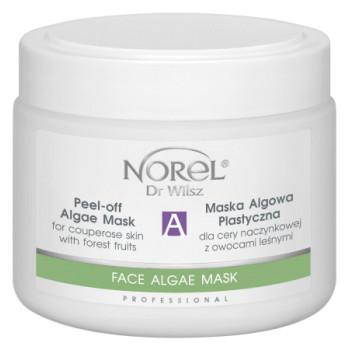 Укрепляющая капиляры, увлажняющая альгинатная маска с лесными ягодами / Peel-off algae mask forest fruits NOREL DR.WILSZ