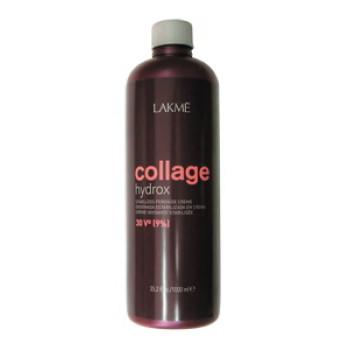 Стабилизированный крем-окислитель Collage Hydrox 30V (9%) LAKME