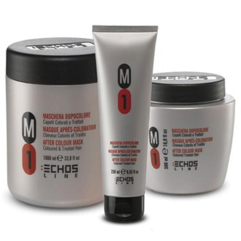 Маска после окрашивания и для окрашенных волос нейтральный PH M1 After Color Mask ECHOSLINE