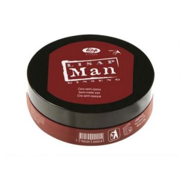 Матирующий воск для укладки волос для мужчин Lisap Man Semi-Matte Wax LISAP MILANO