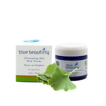 Осветляющая сухая маска-пилинг BLUE BEAUTIFLY