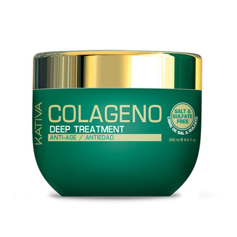 Интенсивный коллагеновый уход для всех типов волос COLLAGENO KATIVA