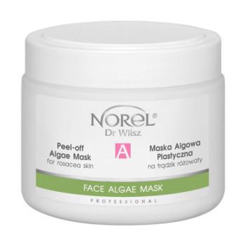 Альгинатная маска для проблемной кожи с признаками розацеа/ Peel-off algae mask for rosacea skin NOREL DR.WILSZ