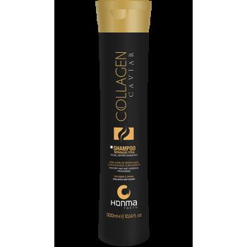 Шампунь для сухих, подвергшихся химическому воздействию волос Collagen Caviar HONMA TOKYO