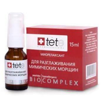 Биокомплекс миорелаксант для коррекции мимических морщин (Умные пептиды) 15 мл Tete