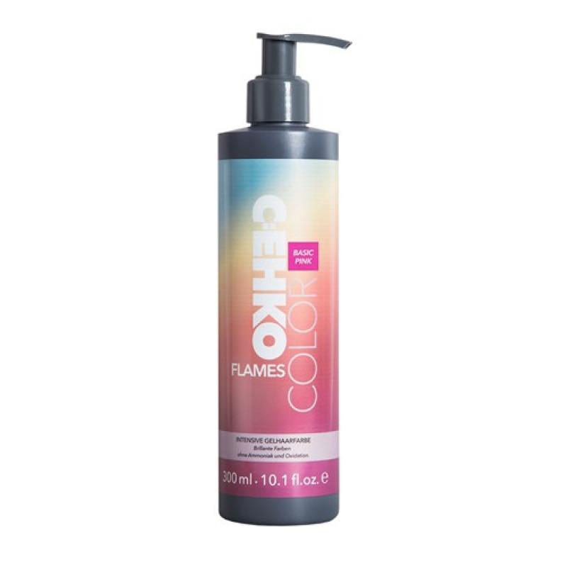 Пигмент прямого действия для волос (Розовый) COLOR FLAMES PINK CEHKO