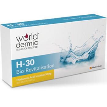 БИОРЕВИТАЛИЗАЦИЯ (BIOREVITALIZATION) H30 WORLDDERMIC