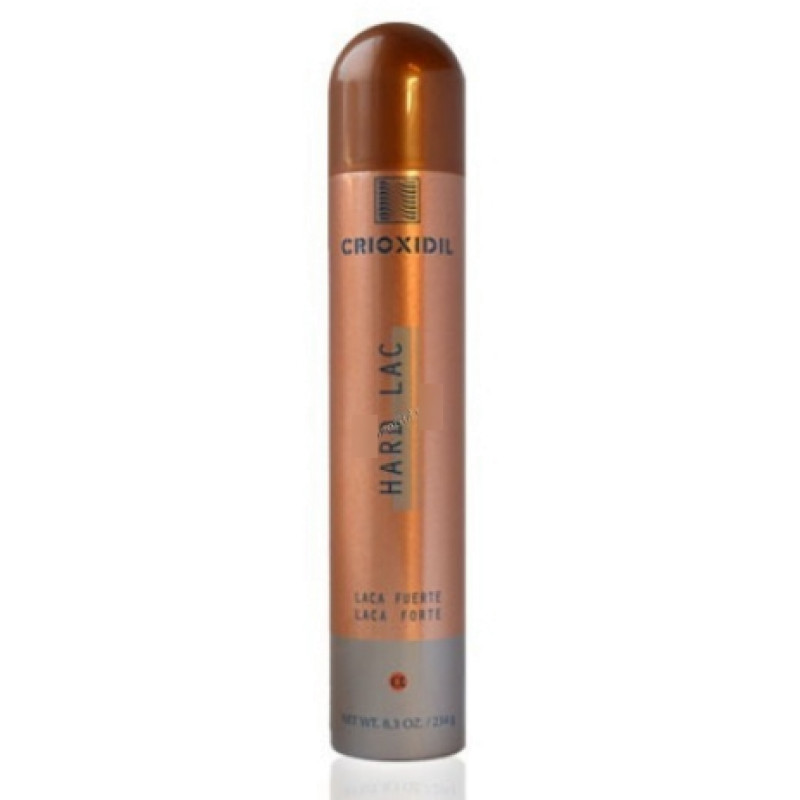 Моделирующий лак эластичной фиксации Hair spray CRIOXIDIL