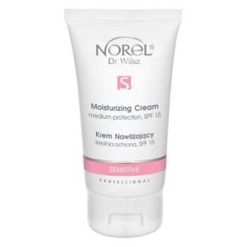Увлажняющий, защитный крем для чувствительной кожи, склонной к куперозу с SPF 15/Sensitive - Moisturizing medium protection cream, SPF 15 NOREL DR. WILSZ