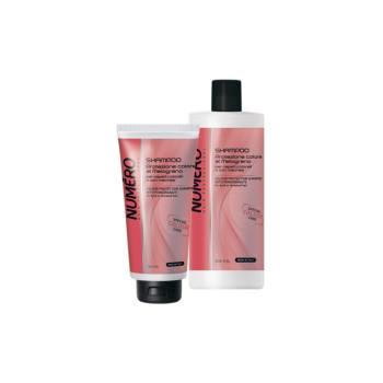 NUMERO COLOUR Шампунь для защиты цвета с эктрактом граната для окрашенных и мелированных волос BRELIL PROFESSIONAL
