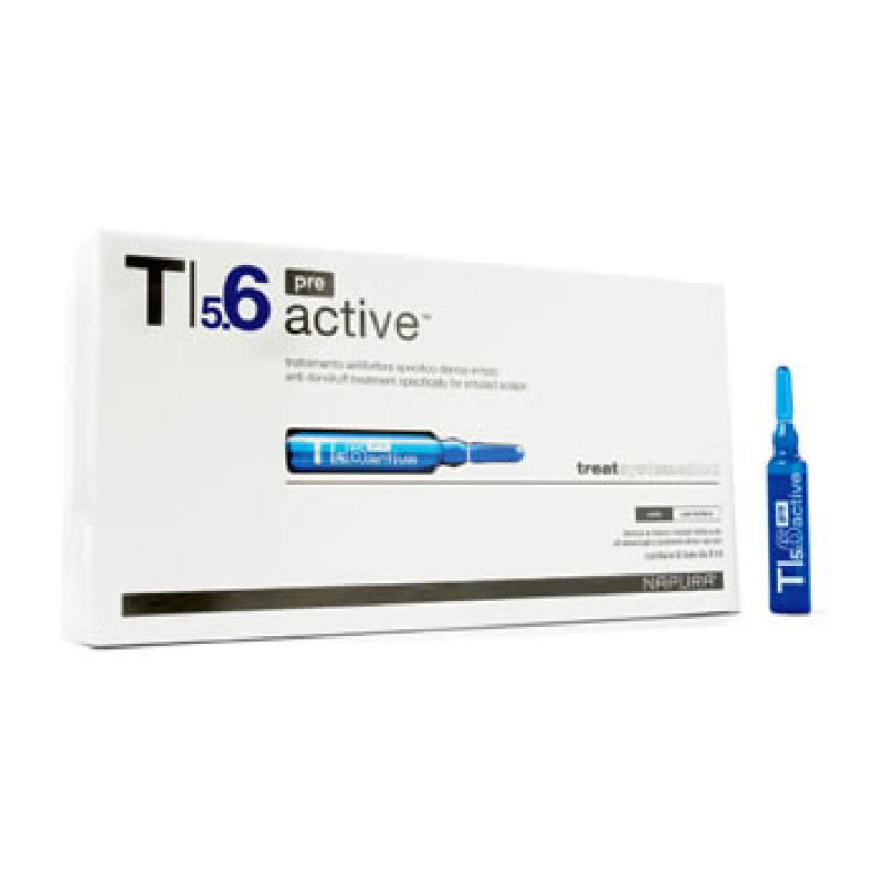 Active Pre ampoule T5.6 Ампулы против перхоти NAPURA