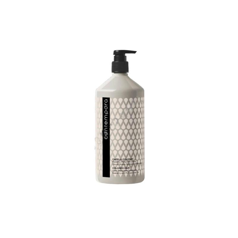 Кондиционер для сохранения цвета с маслом облепихи и маслом граната BAREX ITALIANA