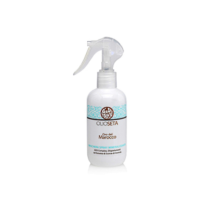 Минерализующая маска-спрей Maschera spray mineralizzante (SPA COLOR OLIOSETA ORO DEL MOROCCO) BAREX ( Барекс)
