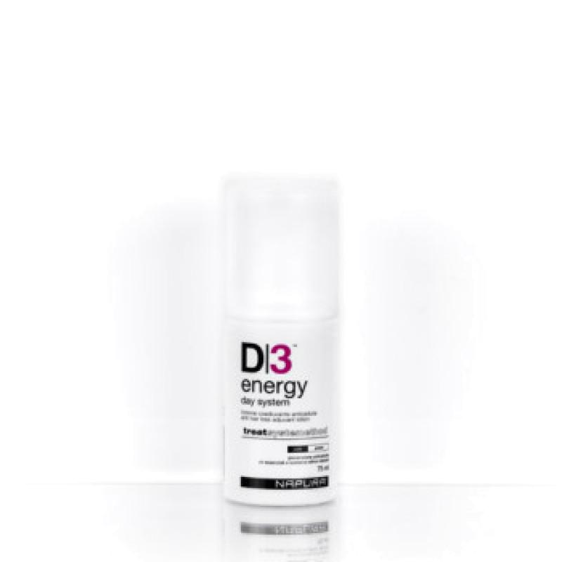 ENERGY DAY SYSTEM D3 Система от выпадения для жирных волос и кожи головы NAPURA