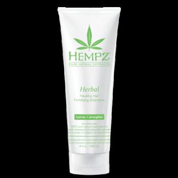 Шампунь растительный укрепляющий Здоровые волосы Herbal Healthy Hair Fortifying Shampoo HEMPZ