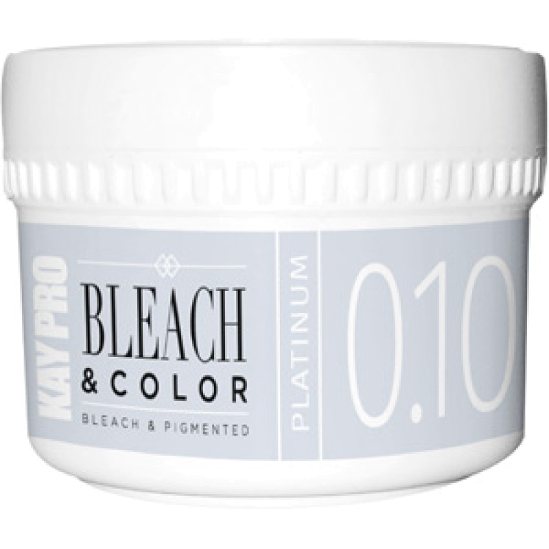 0.10 Пигментированная обесцвечивающая паста платина Bleach Color Bleach Pigmented Platinum KAYPRO